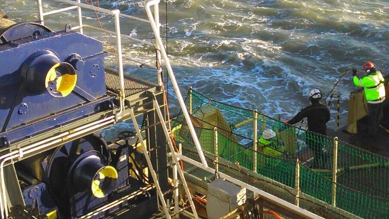 Flushing North Sea ammunition