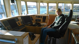 Landratte geht an Bord