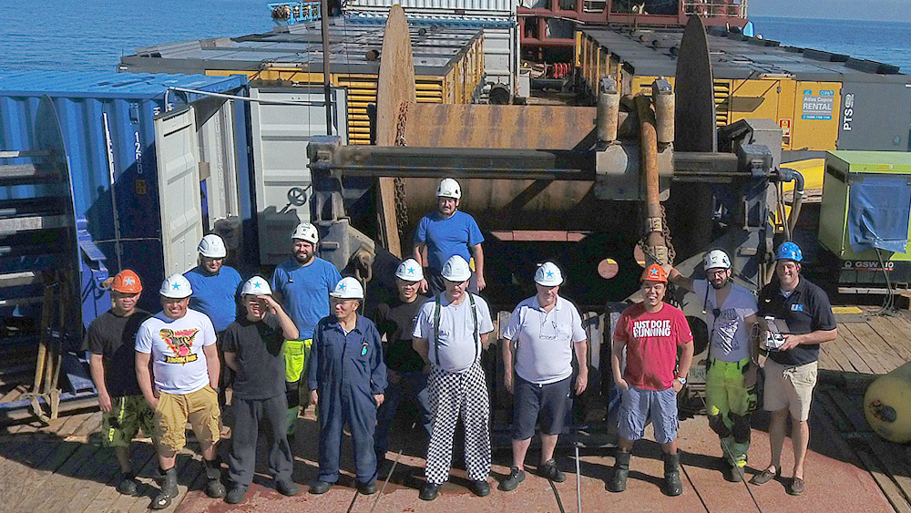 Offshore Windpark Wikinger Crew