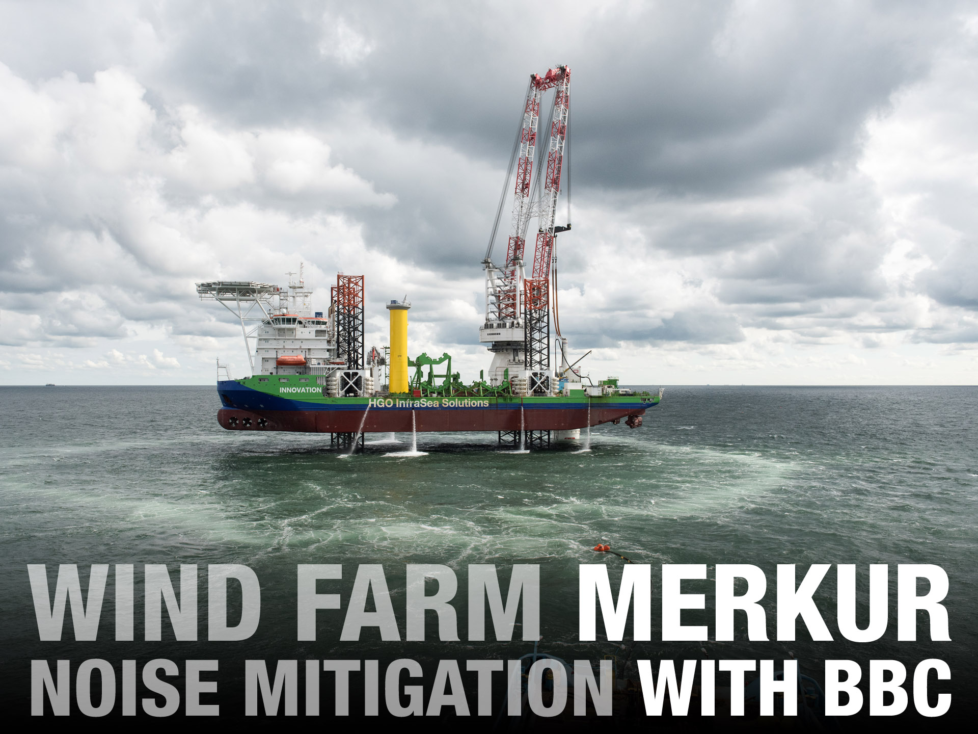 Offshore Windpark Merkur