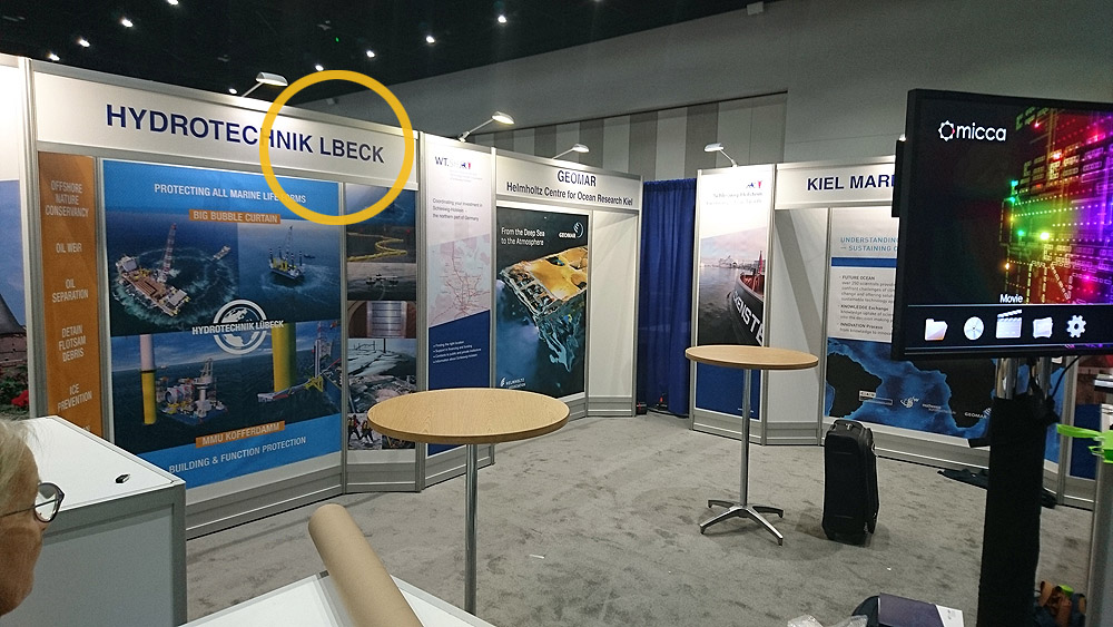 Oceanology North America 2017 Booth