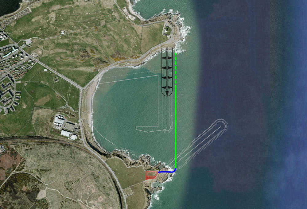 Aberdeen South Harbour Construction Project