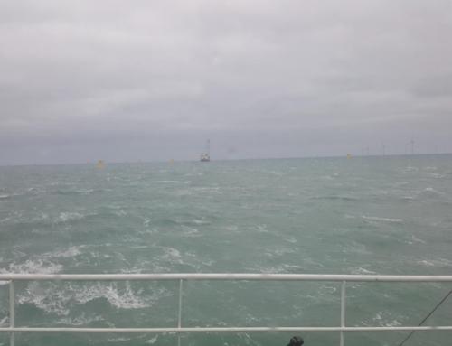 Safety first at the Deutsche Bucht wind farm