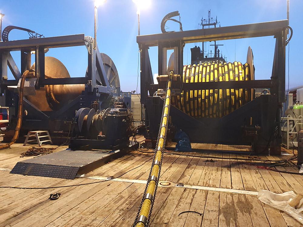 Mobilisierung Windpark SeaMade
