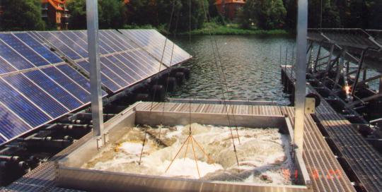 Tiefenwasser Belüftung