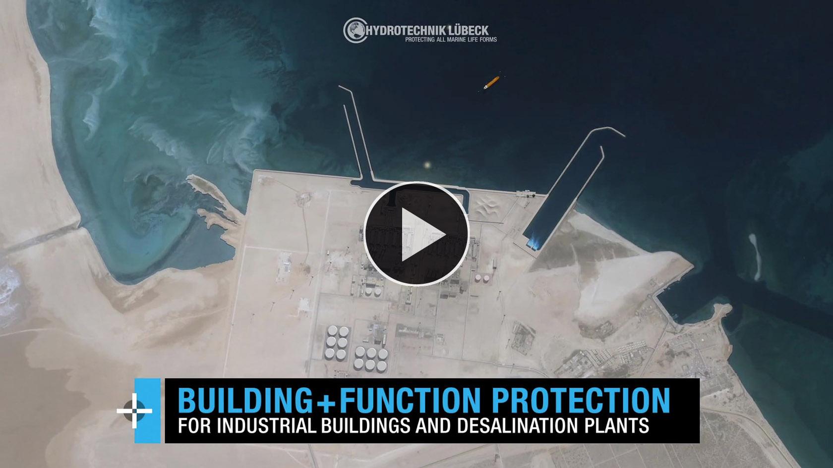 Animation über Industrieanlagenschutz