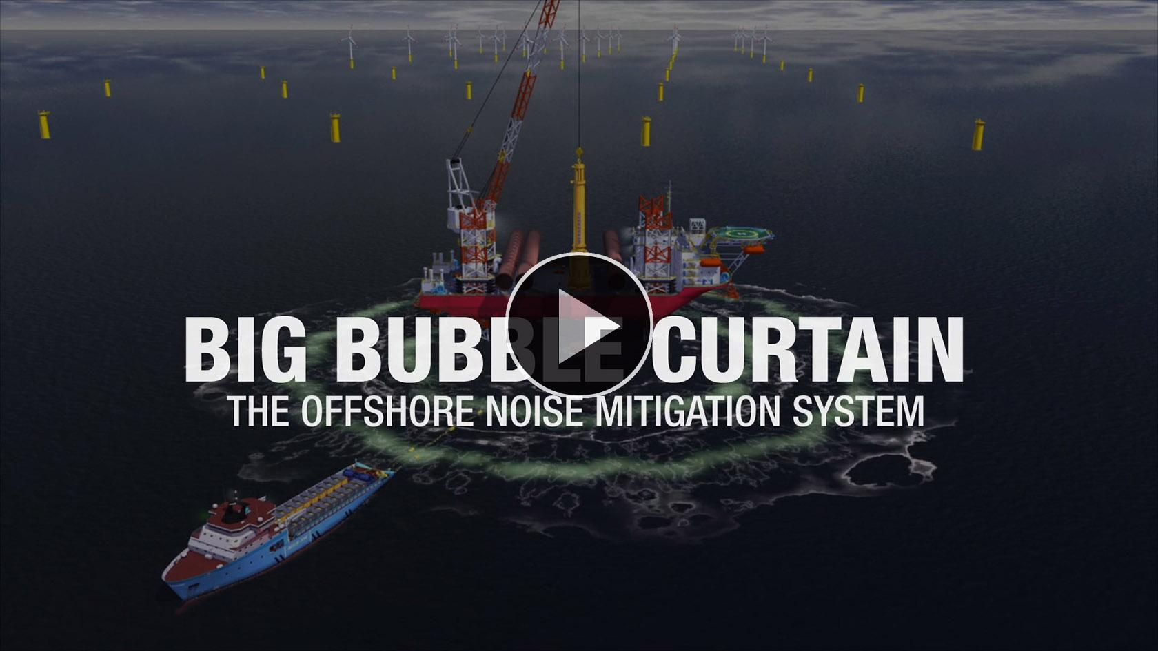 Animation Big Bubble Curtain