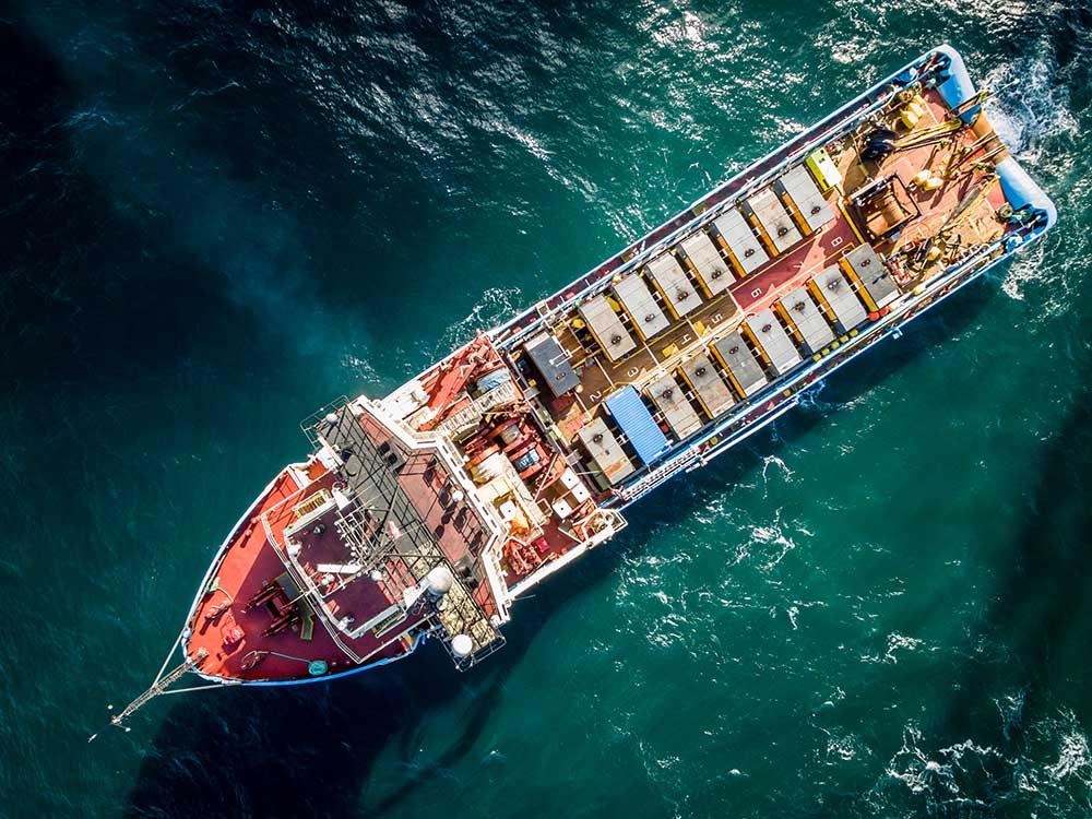 Ölfreie Druckluft unter Wasser